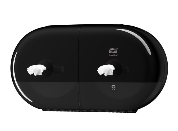 Tork T9 SmartOne Mini Toilet Dispenser Zwart st