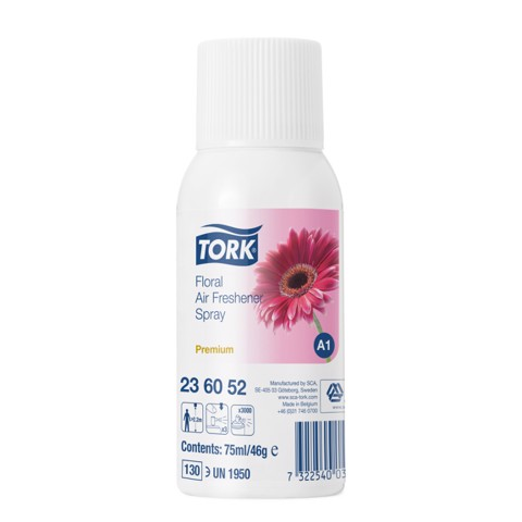 Tork A1 Luchtverfrisser Spray Bloemen doos 12st