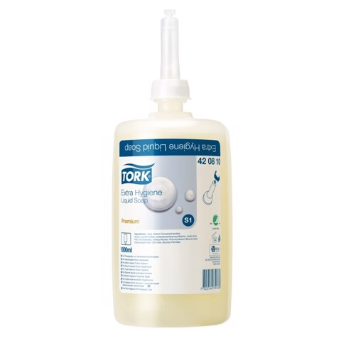 Tork S1 Extra Hygiene Vloeibare Zeep doos 6st
