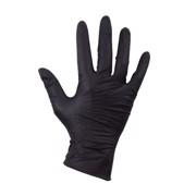 Handschoen Nitril Zwart Ongepoederd M doos 100st