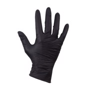 Handschoen Nitril Zwart Ongepoederd XL ds 100st