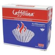 Caffelina Korffilters Bruin 90/250mm       doos 1000st