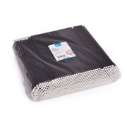 Rietje Papier Zwart 24cm-6mm   pak 500st