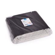 Rietjes Papier Zwart 24cm-6mm   pak 500st