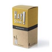 Hay! Strawz Rietjes Tarwe 20cm-5mm  pak 500st