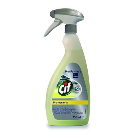 Cif Pro Formula Keukenontvetter     fles 0,75L
