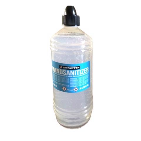 De Kuyper Handalcoholgel 80%  fles 1,00L
