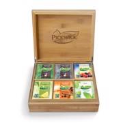 Pickwick Theekist Gevuld Bamboe 6-vaks  per stuk