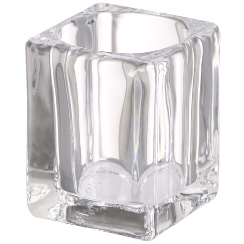 Bolsius ReLight Houder Square Transparant tr 6st