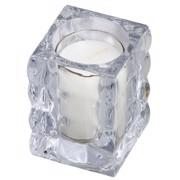 Bolsius ReLight Houder Cube+Vulling  tray 4st