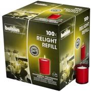 Bolsius ReLight Vulling  Rood doos 100st